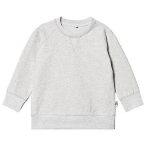 A Happy Brand Sweatshirt Grey Melange 110/116 cm