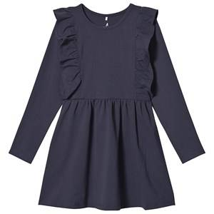 A Happy Brand Flounce Dress Navy Night 110/116 cm