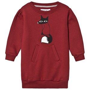 One We Like Fox Dress Syrah 6Y (110/116 cm)