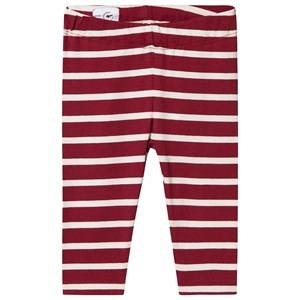 One We Like Stripe Baby Leggings Syrah and Winter White 3M (56/62)