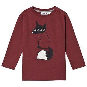One We Like Fox Long Sleeve T-Shirt Syrah 8Y (122/128 cm)