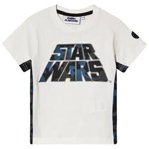 Fabric Flavours Star Wars Camo Tee White 9-10 years