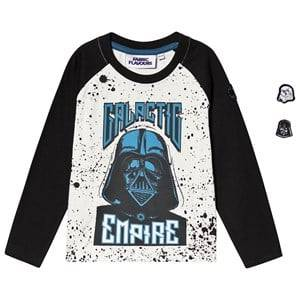Fabric Flavours Star Wars Galactic Empire Tee White & Navy 6-7 years