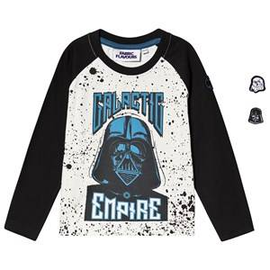 Fabric Flavours Star Wars Galactic Empire Tee White & Navy 5-6 years