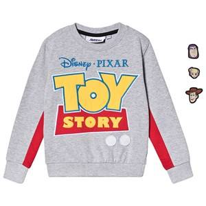 Fabric Flavours Toy Story Sweatshirt Grey 7-8 years