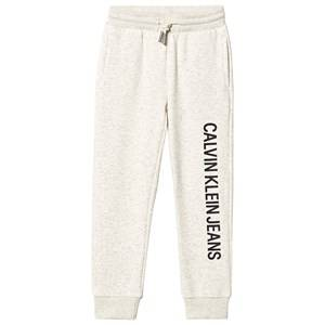 Image of Calvin Klein Jeans Soft Branded Sweatpants White 8 years