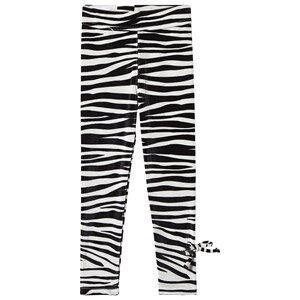 Kiss How To Kiss A Frog Slim Leggings Zebra Stripe 6 Years