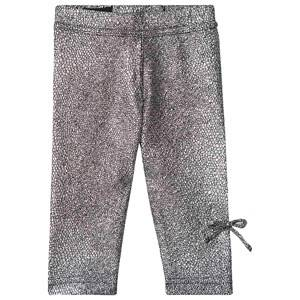 Kiss How To Kiss A Frog Slim Baby Leggings Silver 18 Months