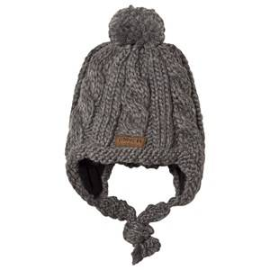 Lindberg Micro Baby Hat Anthracite Trapper hats