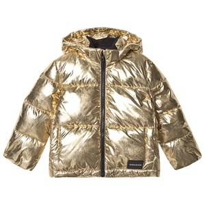 Image of Calvin Klein Jeans Puffer Jacket Gold 12 years