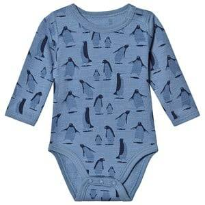 Hust&Claire; Bo Baby Body Blue Glass 68 cm (4-6 Months)