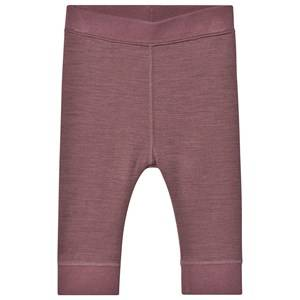 Image of Hust&Claire; Loui Leggings Plum 68 cm (4-6 Months)