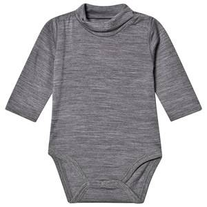 Image of Hust&Claire; Bill Baby Body Wool Grey 56 cm (1-2 Months)