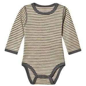 Image of Hust&Claire; Baloo Baby Body Grey Blend 56 cm (1-2 Months)