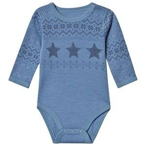 Hust&Claire; Bo Baby Body Blue Glass 56 cm (1-2 Months)