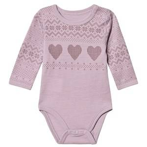 Image of Hust&Claire; Bo Baby Body Purple Fog 62 cm (2-4 Months)
