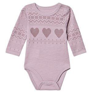 Hust&Claire; Bo Baby Body Purple Fog 62 cm (2-4 Months)