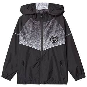 Hype Speckle Fade Track Top Black 11-12 years