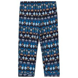 Patagonia Printed Baby Micro D Fleece Pants 12-18 months