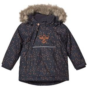 Image of Hummel Jessie Jacket Graphite and Sierra 104 cm (3-4 Years)