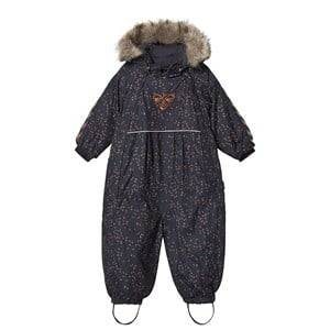 Image of Hummel Moon overall Graphite and Sierra 80 cm (9-12 Months)