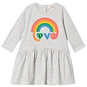 The Bonnie Mob Cissy Applique Dress Rainbow Love 2-3 Years