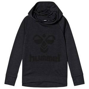 Image of Hummel Harald Hoodie Graphite and Black 122 cm (6-7 Years)