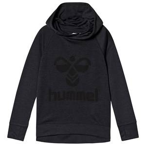 Image of Hummel Harald Hoodie Graphite and Black 104 cm (3-4 Years)