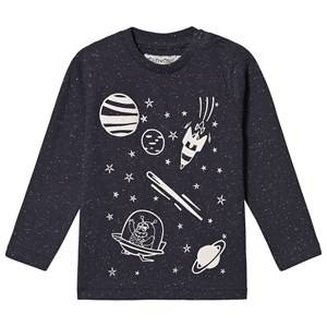 Minymo Space T-Shirt Blue 110 cm (4-5 Years)