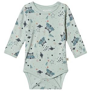 Image of Minymo Space Baby Body Blue Haze 62 cm (2-4 Months)