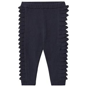 Image of EnFant Knit Leggings Navy 68 cm (4-6 Months)