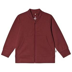A Happy Brand Baseball Cardigan Burgundy 122/128 cm