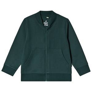 A Happy Brand Baseball Cardigan Forest Green 134/140 cm