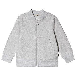 A Happy Brand Baseball Cardigan Grey Melange 110/116 cm