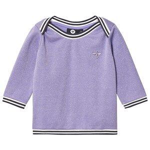 Image of Hummel Ginger Sweatshirt Aster Purple 80 cm (9-12 Months)
