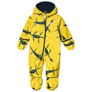 Muddy Puddles Ecosplash overall Yellow Ichthyosaurus 5-6 years