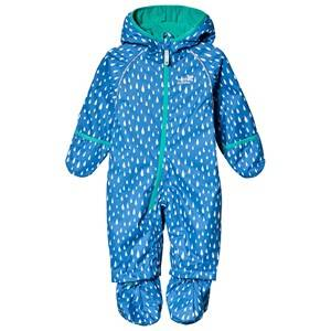 Muddy Puddles Ecosplash overall Blue Raindrop 12-18 months