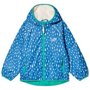 Muddy Puddles Ecosplash Jacket Blue Raindrop Raincoats