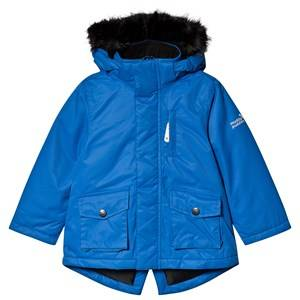 Muddy Puddles Explorer Parka Jacket Blue 3-4 years