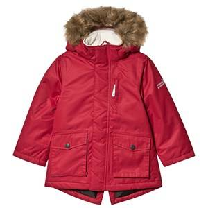 Muddy Puddles Explorer Parka Jacket Red 7-8 years