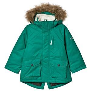 Muddy Puddles Explorer Parka Jacket Forest Green 3-4 years