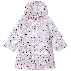 Stella McCartney Kids Clear Multi Spot Raincoat Raincoats
