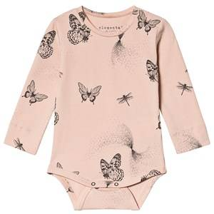 Fixoni Butterfly Baby Body Cameo Rose 74 cm (6-9 Months)