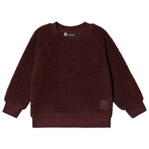Didriksons Siken Kids Crewneck Old Rust 140 cm (9-10 Years)
