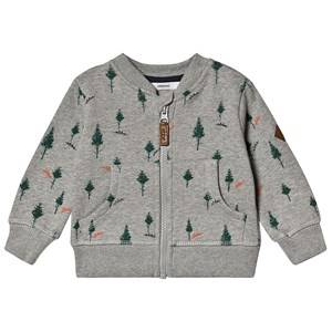 ebbe Kids Berkely Sweat Jacket Pine Print 92 cm (1,5-2 Years)