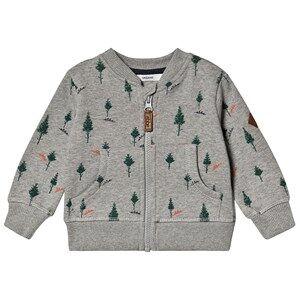 ebbe Kids Berkely Sweat Jacket Pine Print 80 cm (9-12 Months)