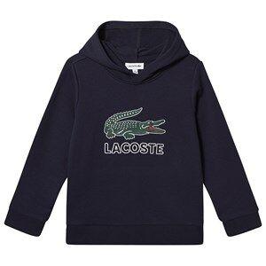 Lacoste Big Logo Hoodie Navy 10 years