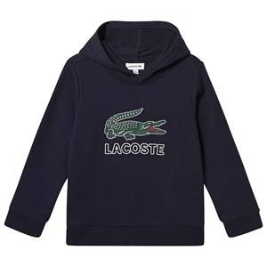Lacoste Big Logo Hoodie Navy 16 years