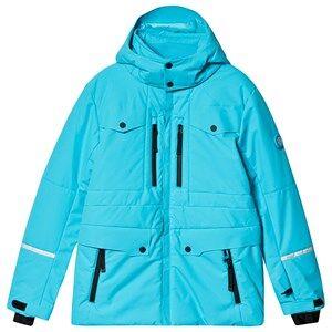Poivre Blanc Multi Pocket Ski Jacket Aqua Blue Ski jackets