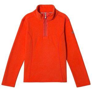 Poivre Blanc Micro Fleece Sweater Clementine Orange 12 years